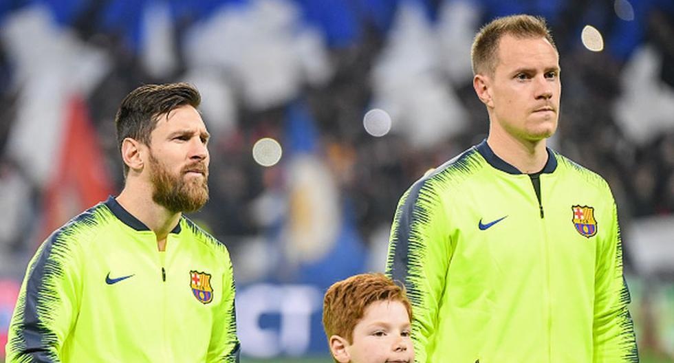1628411576 Sincerity to the maximum Ter Stegen acknowledged discrepancies with Messi