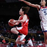 The United States defeated Japan in women's basketball and claimed its seventh consecutive Olympic gold