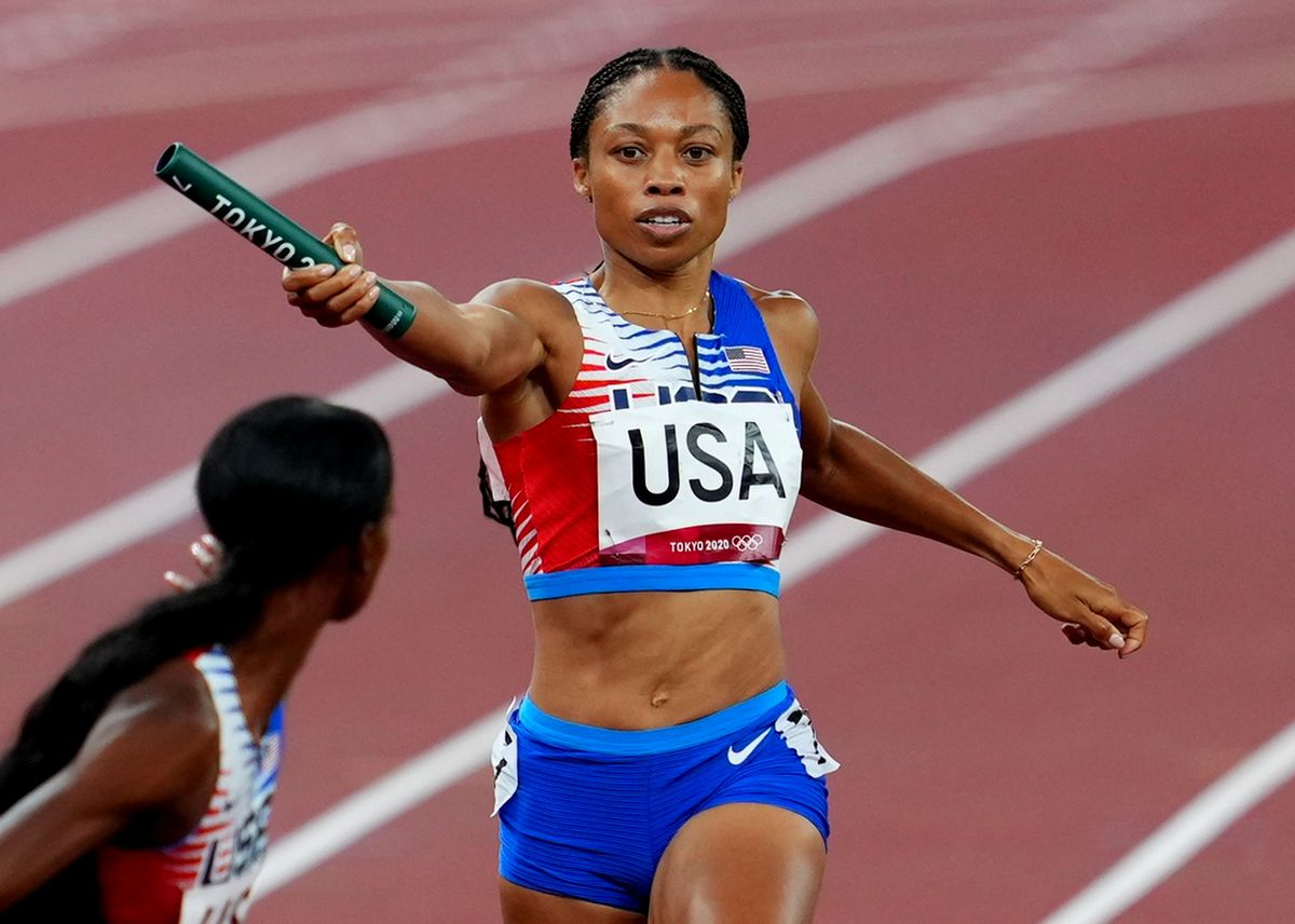 1628444361 Allyson Felix 11 medals and a lot of power