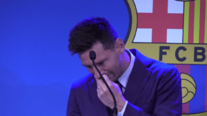 Lionel Messi says goodbye to FC Barcelona: the farewell message