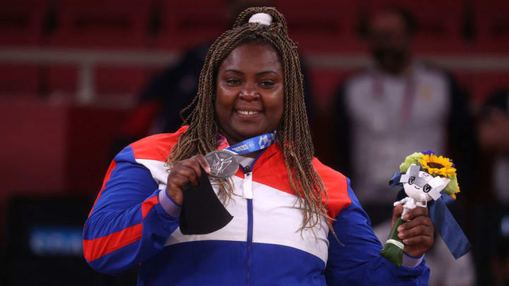 The Cuban judoka, Idalys Ortiz, added her fourth consecutive Olympic medal after the one achieved in Tokyo