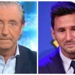 Josep Pedrerol tries to decorate Messi's denial of 'El chiringuito' in his farewell