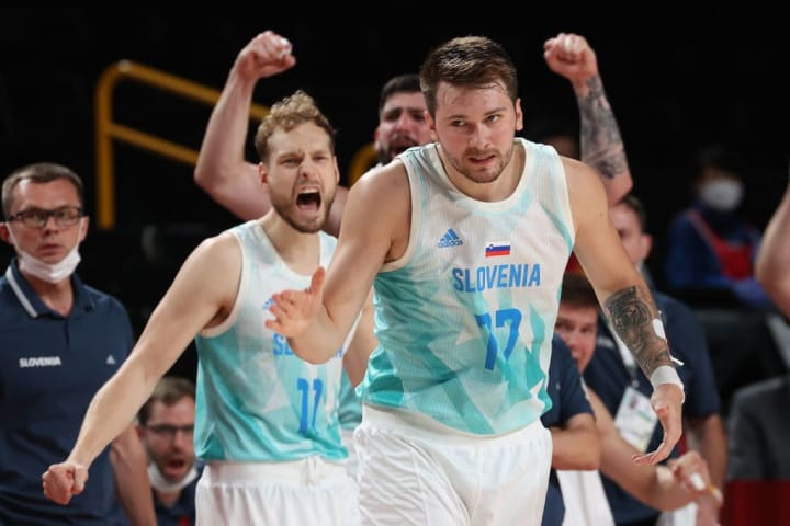 Luka Doncic established himself as a world star with his performance with the Slovenian national team at the Olympic Games