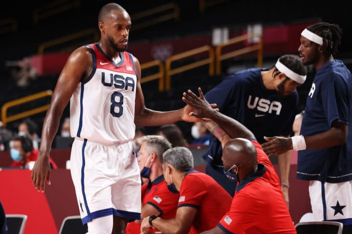 Khris Middleton, Jrue Holiday and Devin Booker stood out for banking the United States during the Olympics