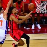 Vildoza debuted in the NBA Summer League