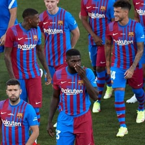 Umtiti answered those who whistled it in the Gamper