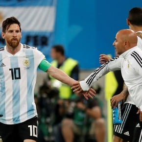 Sampaoli on the chance that Messi goes to PSG