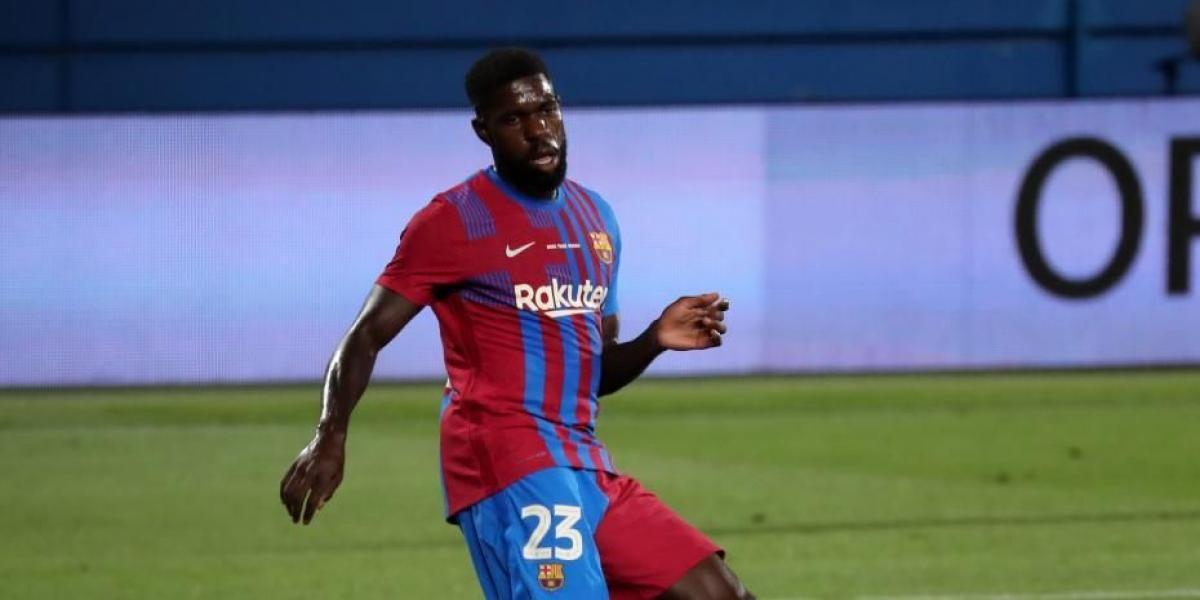 Umtiti responds to the whistles with an enigmatic message