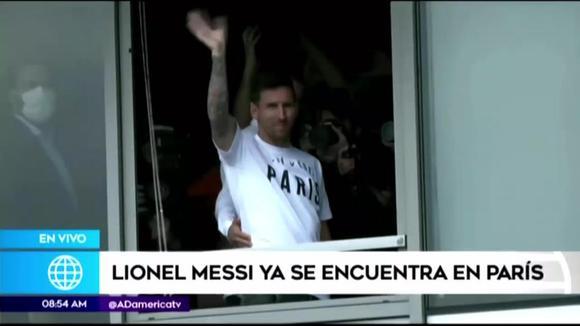 Messi in Paris
