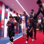 Messi's children steal the spotlight in their presentation with PSG
