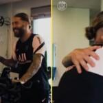 Messi and Sergio Ramos: hugs and a good 'feeling' at PSG
