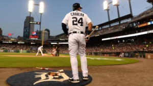 Should the Tigers retire Miguel Cabrera's number in the future?