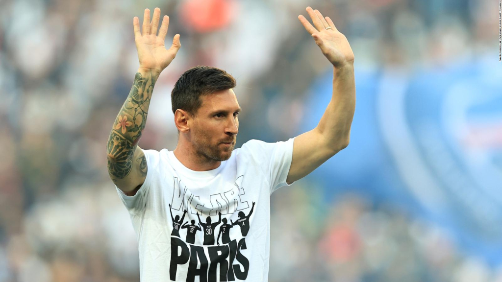 Messi was applauded, but did not play