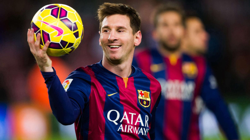 Messi, a normal guy who is dying to play ball