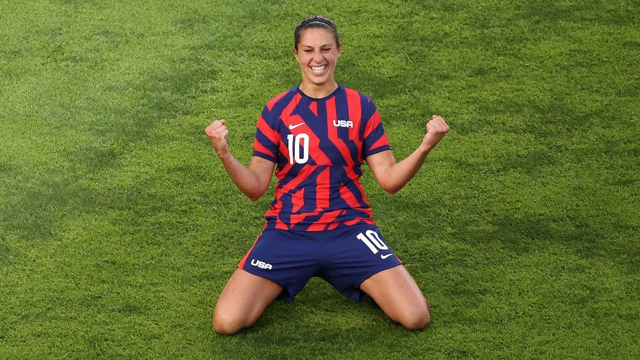 1629141567 Carli Lloyd will retire from the US National Team