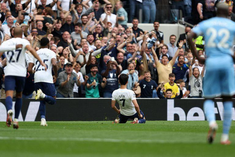Manchester City bought & # xf3; Geralish for 140 million dollars and threatens to take Tottenham from Kane for another 166 million; However, on the court the Spurs won, with a goal from the Korean Son