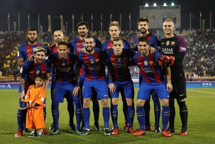 Pas un instant ne s'est détaché de Messi.  AFP