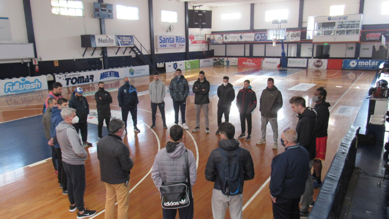 """Horacio Masino: """"We are looking forward to them being able to play on our court again"""""""