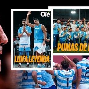 Plus d'affiches olympiques : le bronze des Pumas et les adieux de Scola