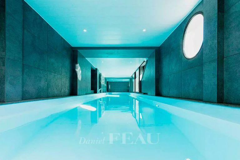 Antonela Roccuzzo and Lionel Messi requested that the house have a swimming pool, since it is one of the favorite comforts of children
