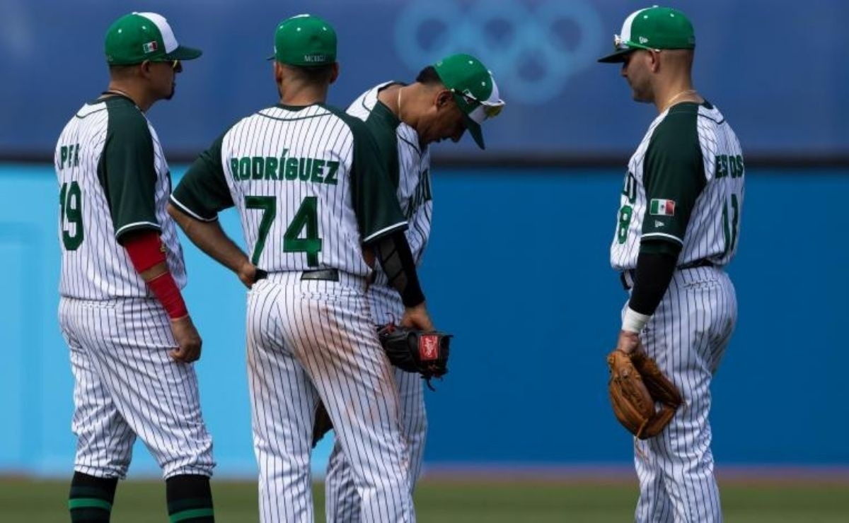 2021 Olympics: The dream is over! Mexico's baseball team falls dramatically against Israel