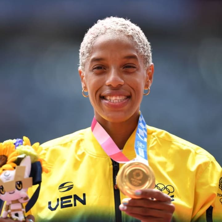 Yulimar Rojas was proclaimed Olympic champion after the gold achieved by Rubén Limardo in London