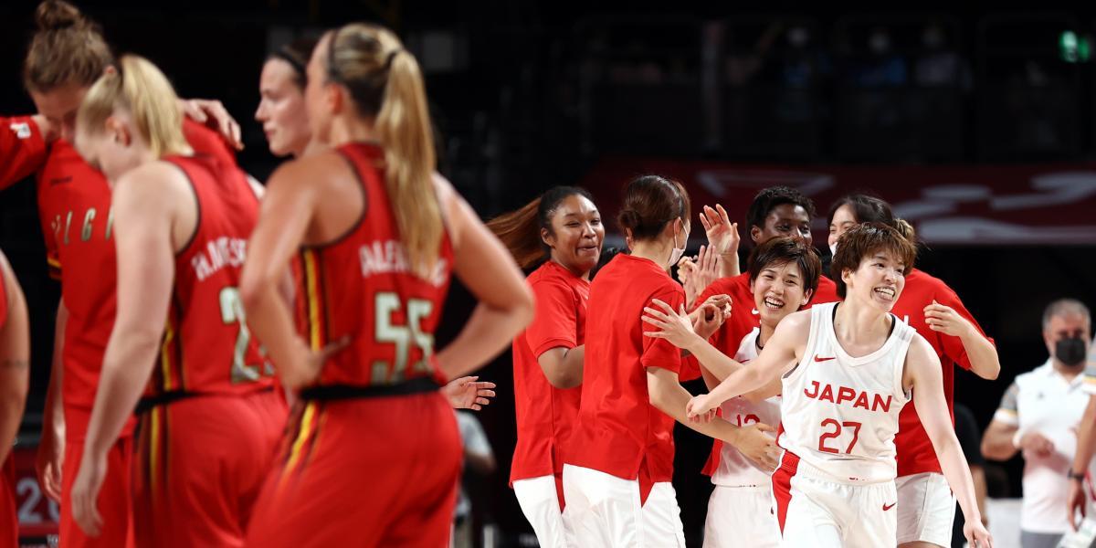 86 85 Japan knocks down Belgium and the winner of Spain France