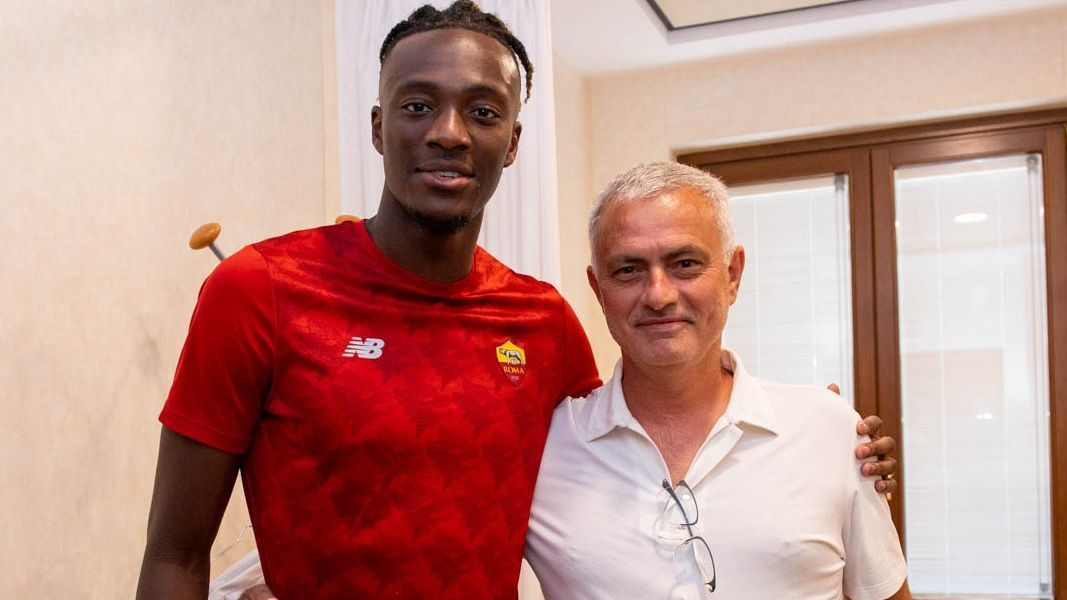 AS Roma pays 40 million to Chelsea for Tammy Abraham, Dzeko's replacement