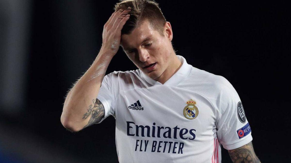 Alert in Madrid with Kroos