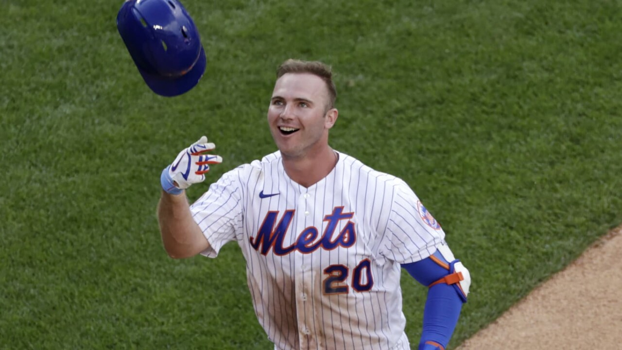Alonso da HR and Mets sweep double day