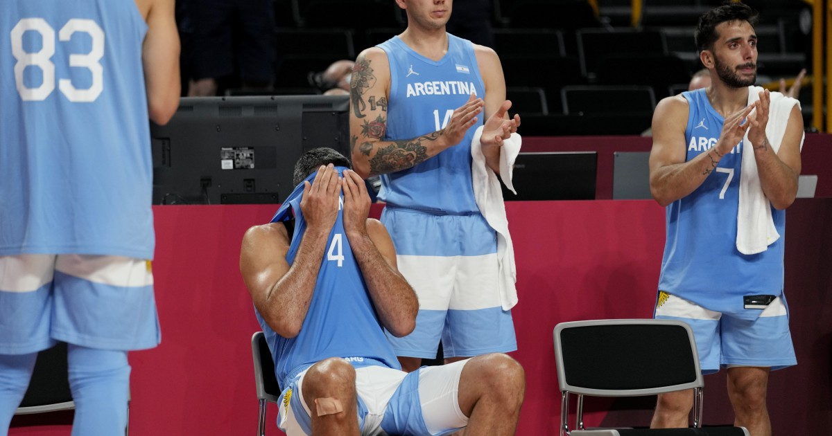 Argentina falls to Australia in the quarterfinals Scola says goodbye