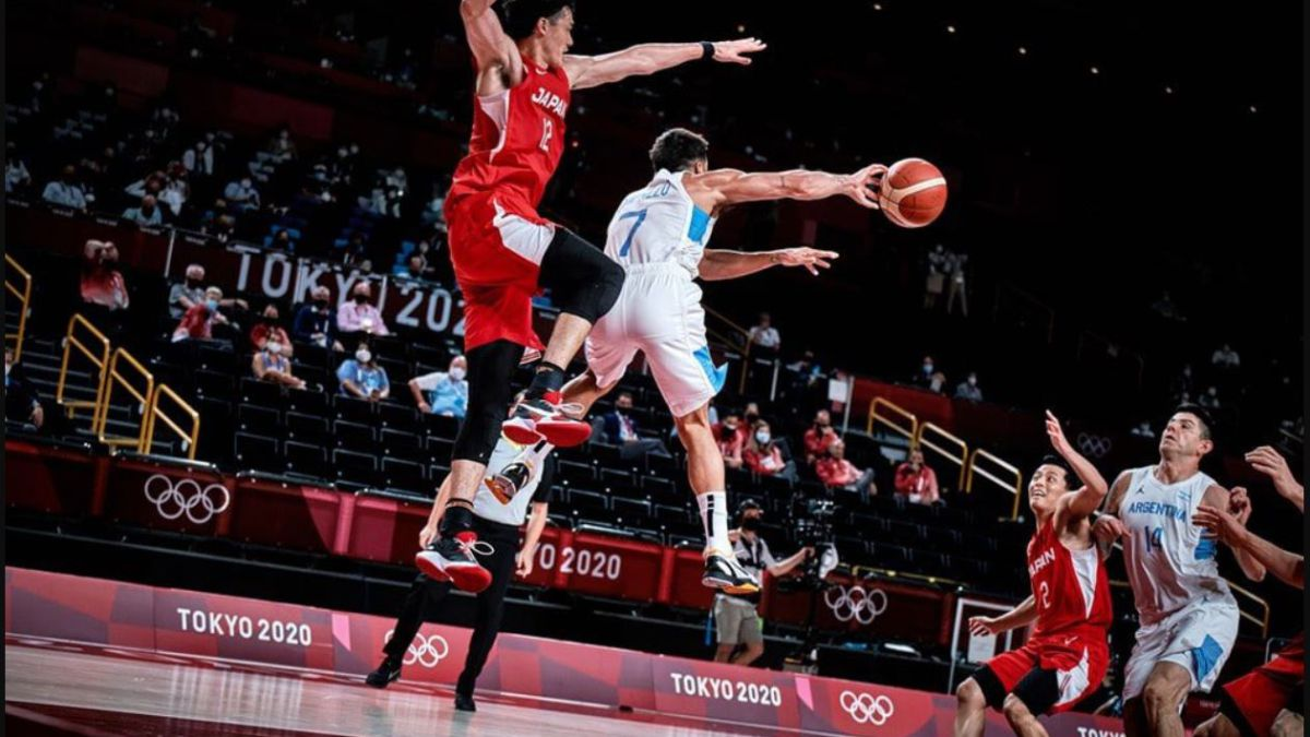 Argentina sweats against Japan for three quarters but did their