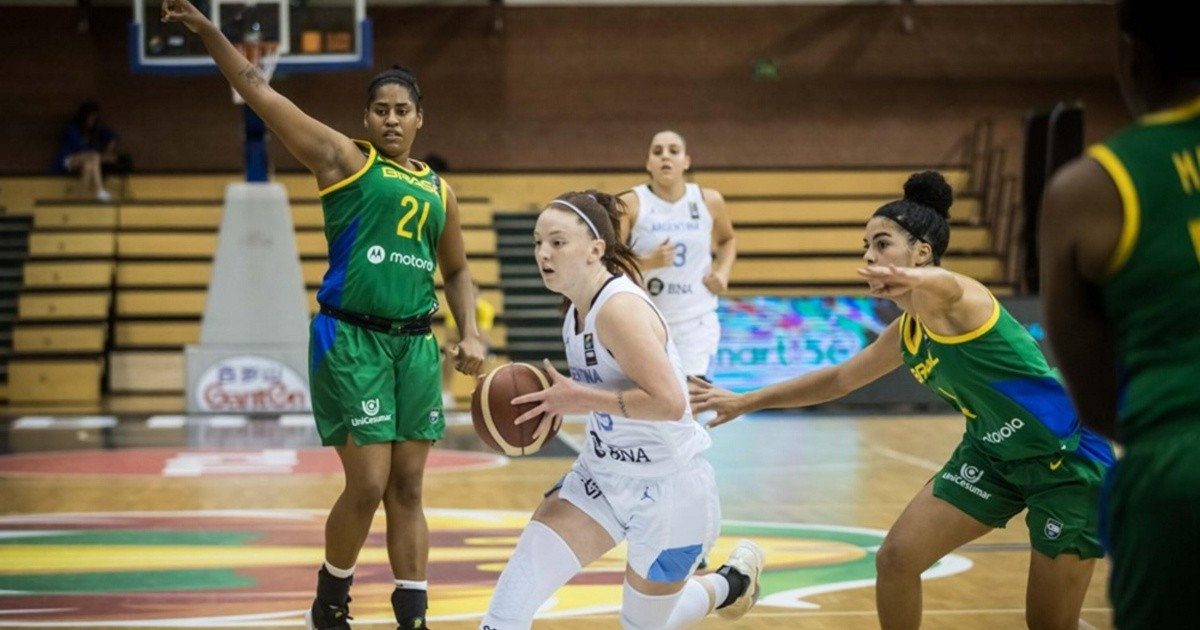 Argentina won the classic against Brazil for the U19 women's basketball World Cup: in what position was it