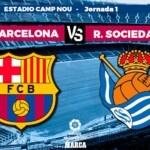 Barcelona - Real Sociedad, live | The Santander League | Brand