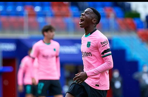 Ilaix Moriba has a contract with Barcelona until mid-2022. (Getty)