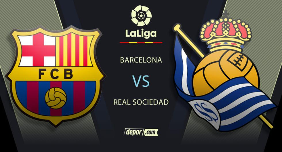 Barcelona vs. Real Sociedad LIVE: schedules and transmission of the duel by LaLiga