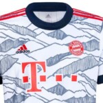 Bayern Munich debuts shirt with tribute to Bavaria and the Alps