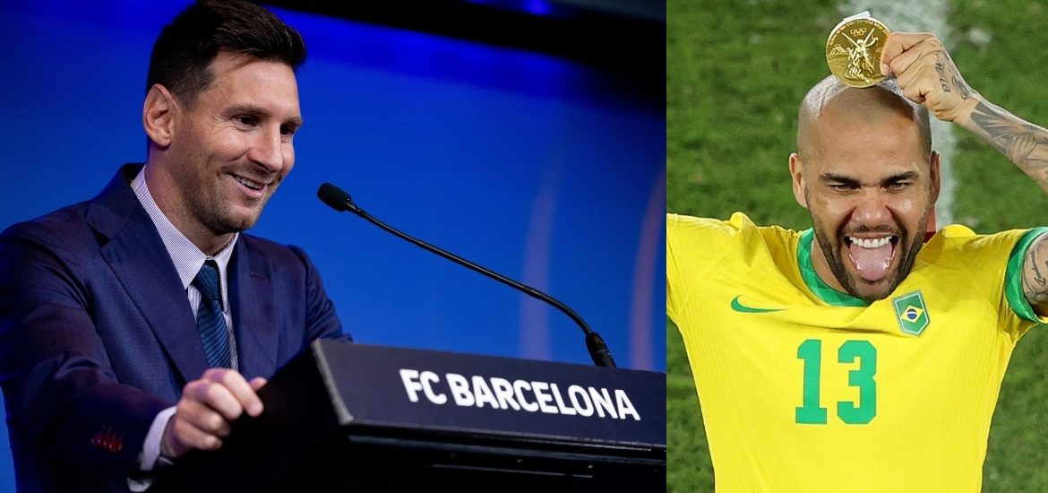 CHALLENGE FOR DANI ALVES Lionel Messi revealed what his great