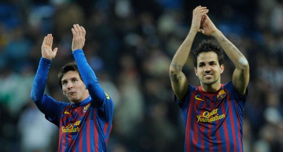 Cesc Fabregas warned that PSG and Lionel Messi will not