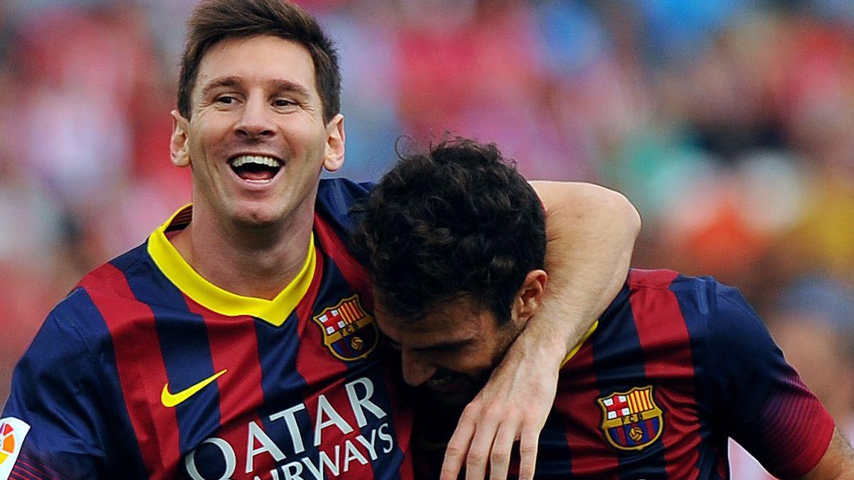 Cesc warns Messi