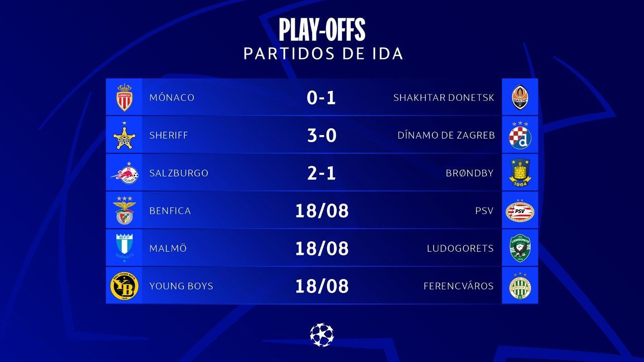 Champions League previous round Shakhtar took a big step and