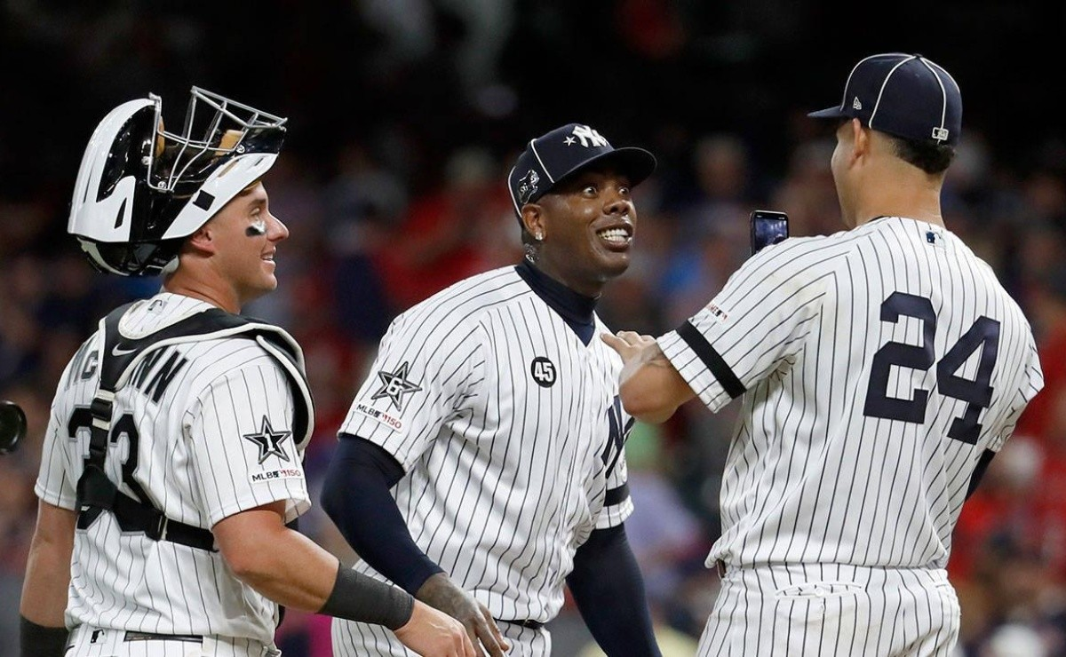 Chapman and the rest of the Yankees are like kids