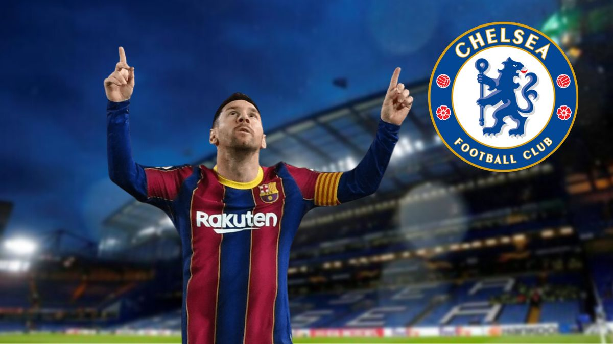 Chelsea test with Messi
