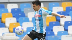 'Chucky' Lozano, with permission to train, but would play again until September