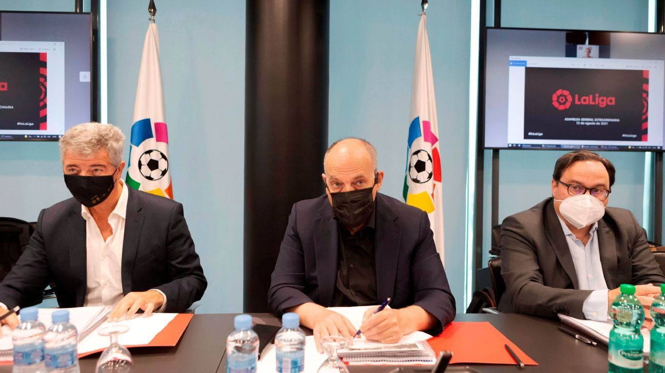 Clubs approve LaLiga agreement with financial CVC