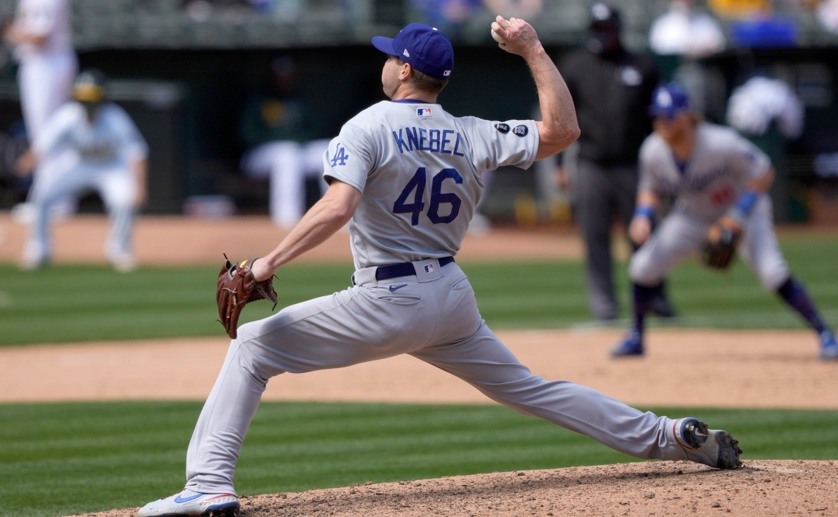 Dodgers recover pitcher who missed 92 games Corey Knebel