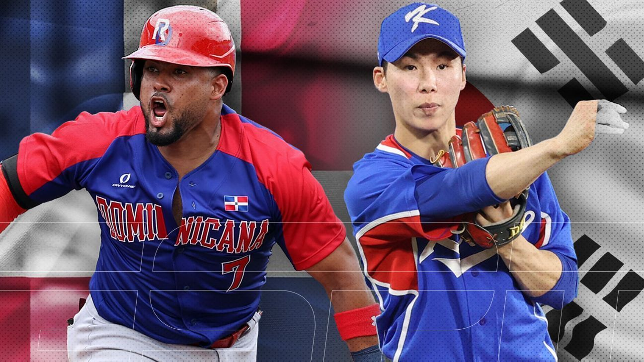 Dominican Republic and South Korea meet for the first time