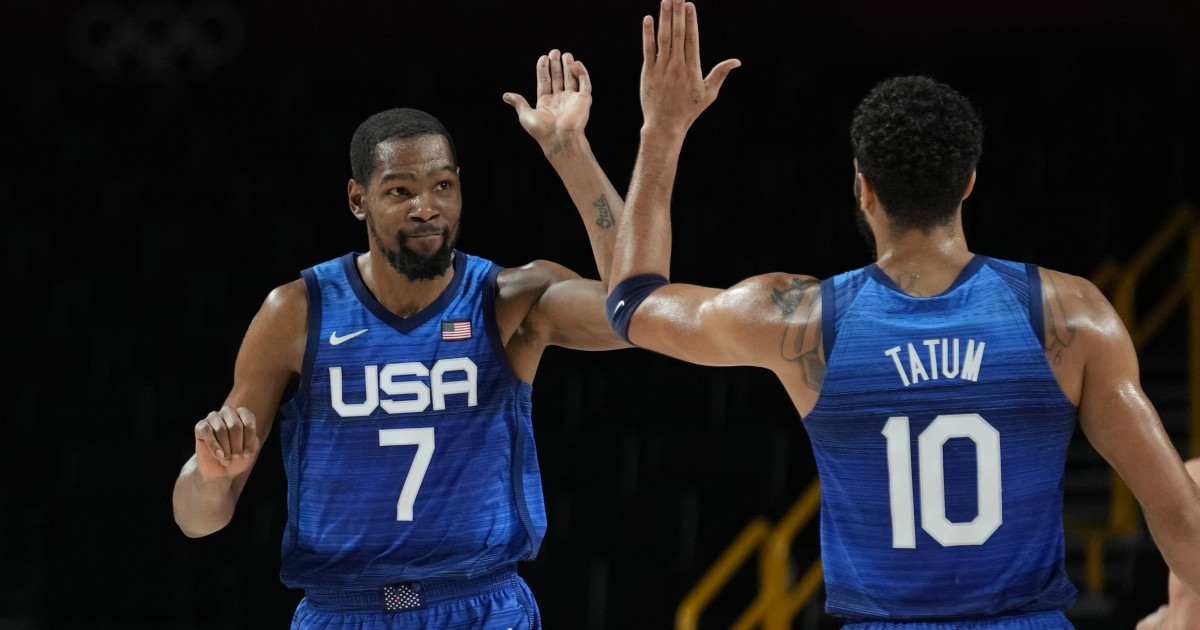 Durant commands victory over Spain and a ticket to the