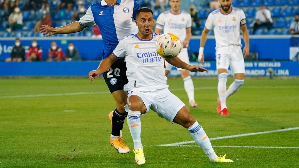 Eden Hazard away from injuries and focused on good performance