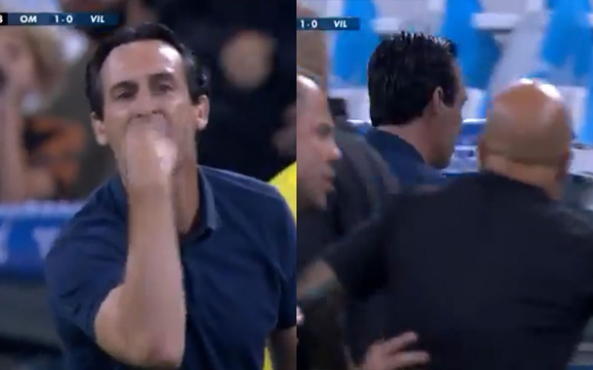 Emery faces Sampaoli and they almost come to blows